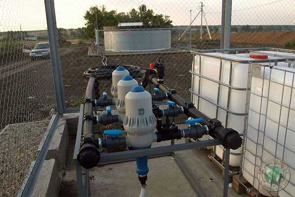 Fertigation unit